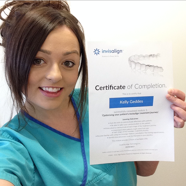 3 Years for Kelly! - Deveron Dental Centre - Huntly